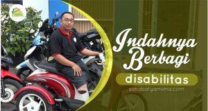 Indahnya Berbagi Bersama Pak Deden, Penyandang Disabilitas