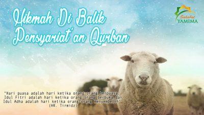 Hikmah di Balik Pensyari'atan Qurban