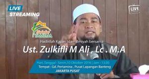 Saksikan Segera ..!! Live streaming Sahabat Yamima | Ustad Zulkifli Muhammad Ali, Lc. MA |Siang Ini 10 Oktober 2016 Pukul : 01.00