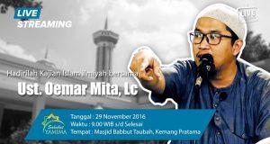 Saksikan Segera ..!! Live streaming Sahabat Yamima | Ustad Oemar Mita, Lc | Pagi Ini 20 Desember 2016 Pukul : 09.00
