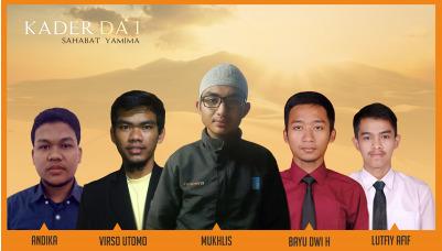 Profil 5 Kader Da'i Angkatan 2017/2018