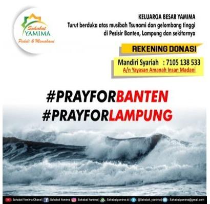 PRAY FOR BANTEN & LAMPUNG