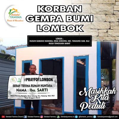 """PRAY FOR LOMBOK : """"Rumah Kandang Kambing"""""""