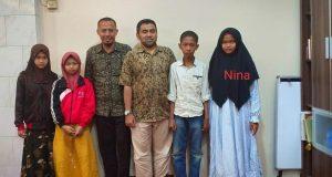 nina anak korban gempa sumatra barat