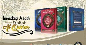 Wakaf alqur'an untuk Muallaf Ambon
