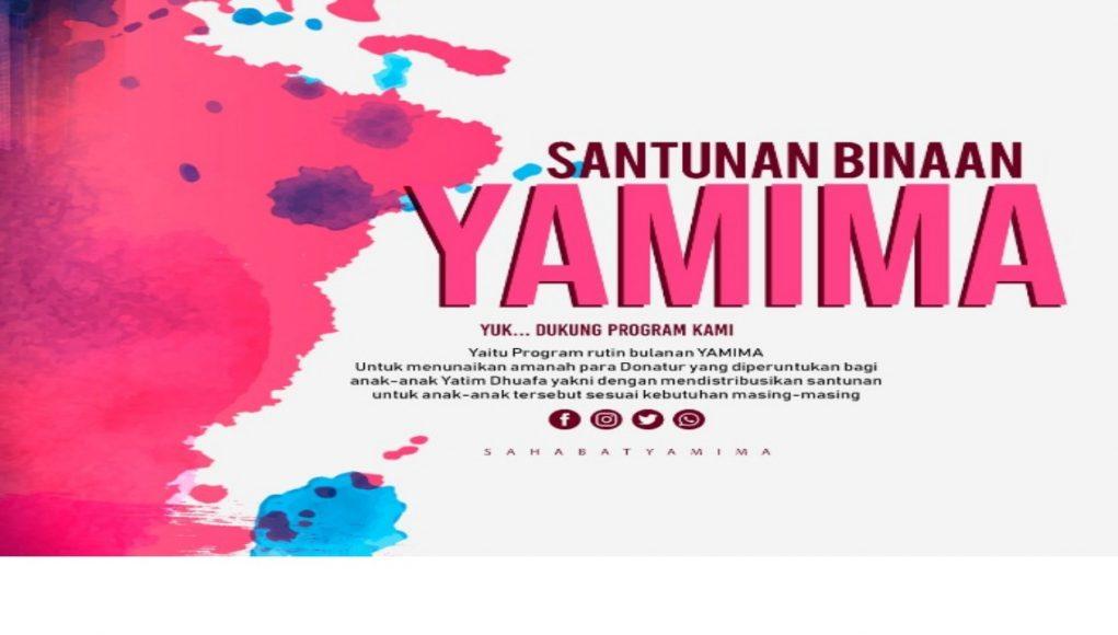 Santunan Yatim Binaan Yamima Periode FEBRUARI 2019