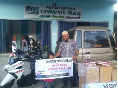 rumah quran liwa'ul haq Quran Untuk Palu
