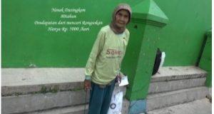 Nenek Dasingkem pemulung