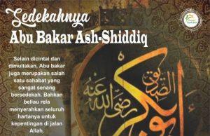 Sedekahnya Abu Bakar Ash-Shiddiq