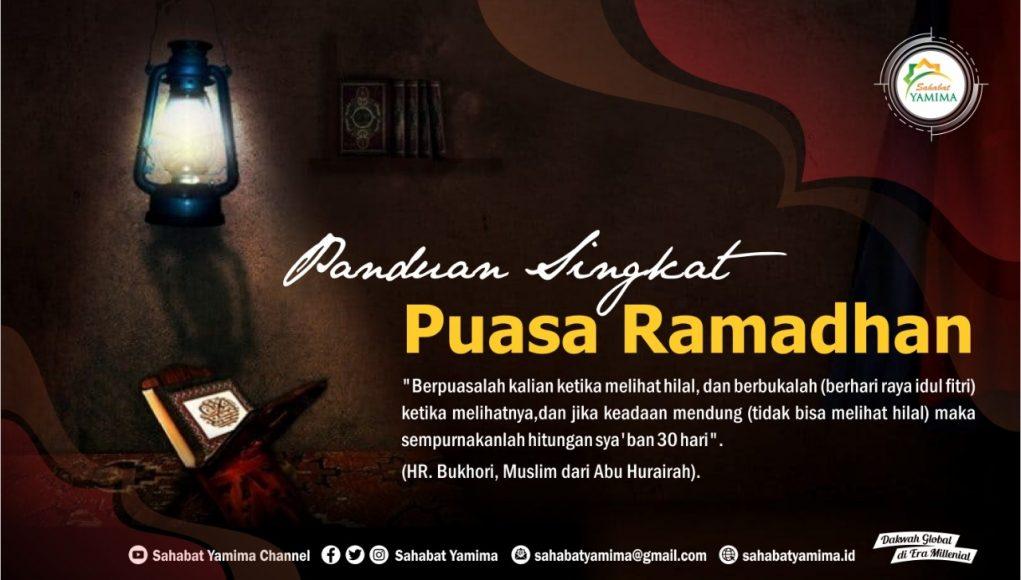 Panduan Singkat Puasa Ramadhan