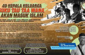 kepala suku wana masuk islam
